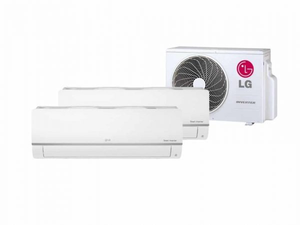 LG DUOSPLIT 1X 2,5 KW & 1X 3,5KW MU2R15-0912 R32