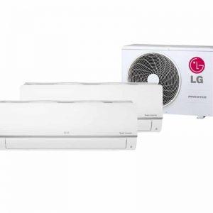 LG DUOSPLIT 1X 2,5 KW & 1X 3,5 KW MU2R17-0912
