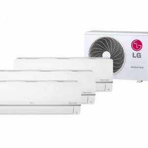 LG TRIPLE SPLIT STANDARD INVERTER AIRCONDITIONER 2 X 2.5KW + 3.5KW WIFI