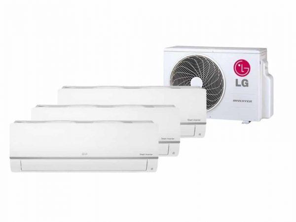 LG TRIPLE SPLIT STANDARD INVERTER AIRCONDITIONER 3 X 2.5KW WIFI