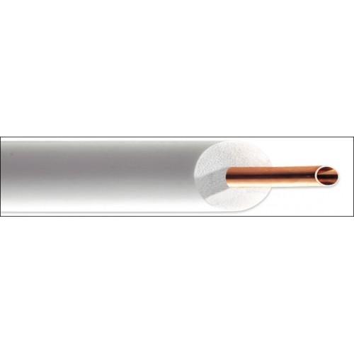 Cupex single geïsoleerde koelleiding 1/2 rol 25m