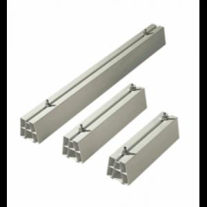 Montagebalk hard PVC, 450mm